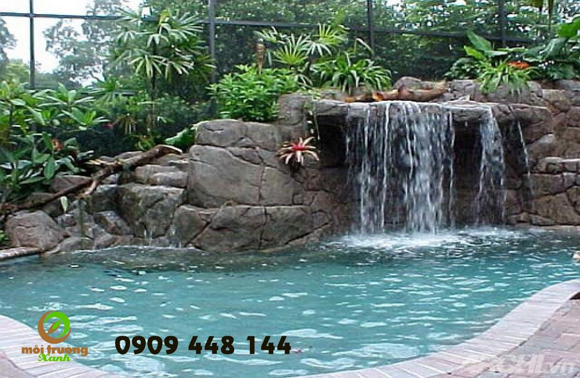 thác nước nhân tạo tại miền nam