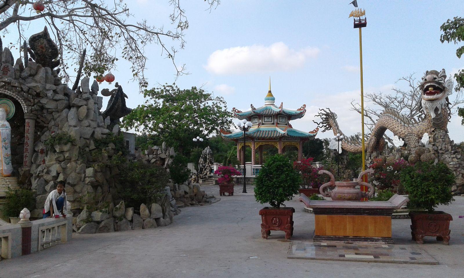 chùa la hán ở Sóc Trăng