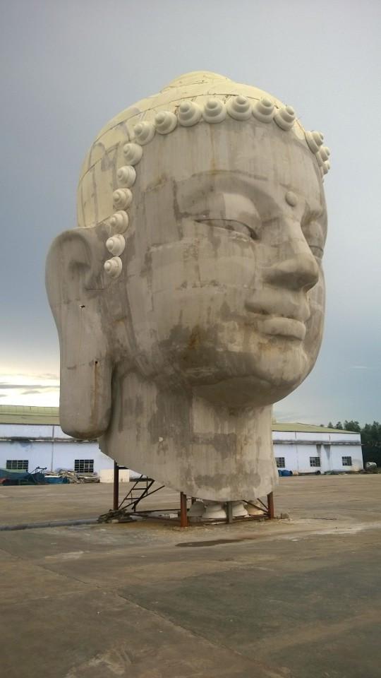 Điêu khắc- Hoàn thiện tượng phật Qui Nhơn