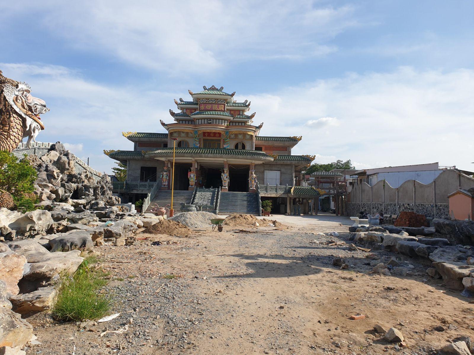 hiện trạng chùa la hán