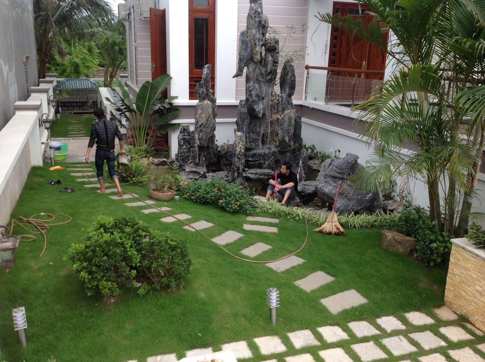 Chúng tôi chuyên thiết kế, thi công cảnh quan sân vườn biệt thự, resort, khu nghỉ dưỡng