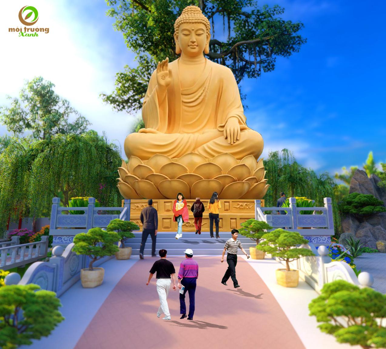 tượng phật chùa la hán