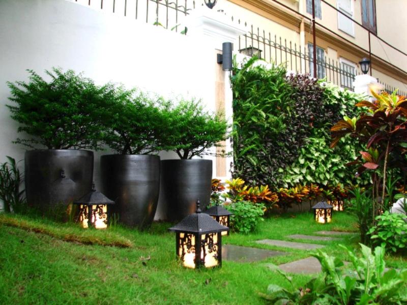 thiết kế sân vườn cho biệt thự